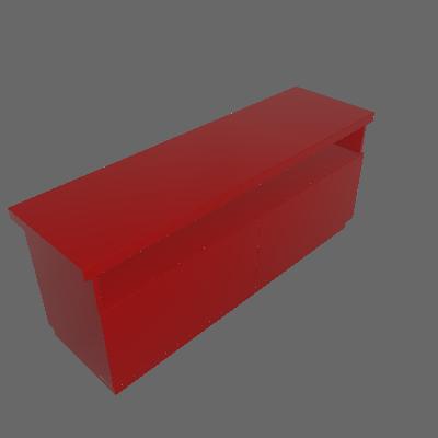 Rack Imperador Vermelho 137 cm - Imperador