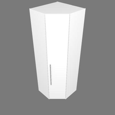 Armário Canto 45° 89,8cm - Dir
