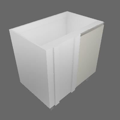 Balcão Canto Reto 950mm 1 Porta (3512)