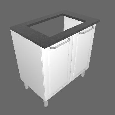 Gabinete 02 Portas (IG2A-80 4B)