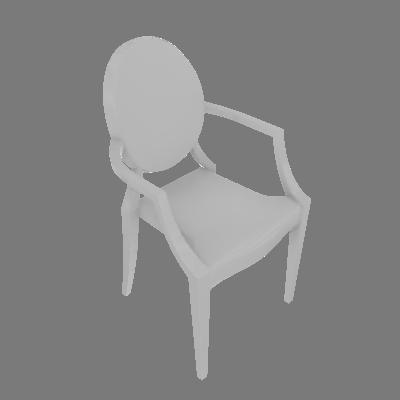 Cadeira Sofia com Braço Branca