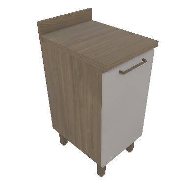 Balcão 40cm - 01 Porta Editável (RZ1103)