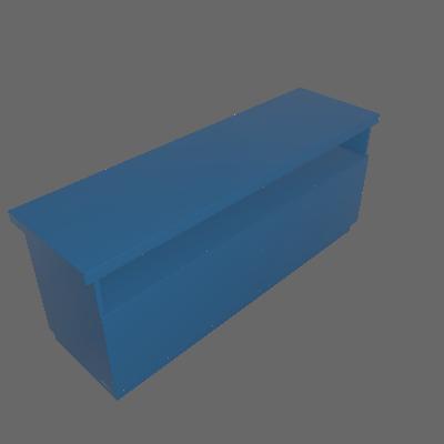 Rack Imperador Azul 137 cm - Imperador