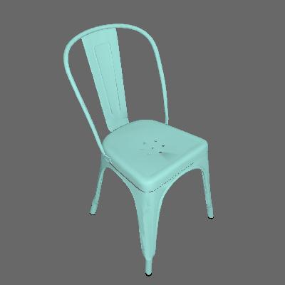 Cadeira Iron Verde - Mobly