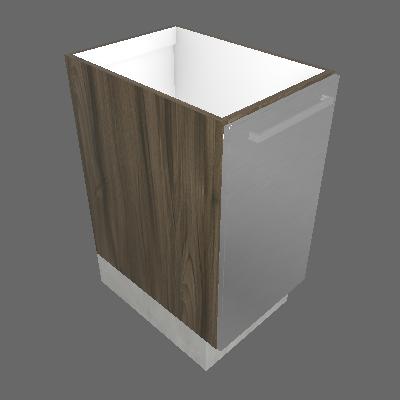 Gabinete 01 Porta Esquerdo com Rodapé (GB 1P-40 ESQ C_RP)