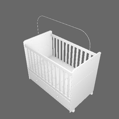 Berço Aquarela Mini-cama (I16)