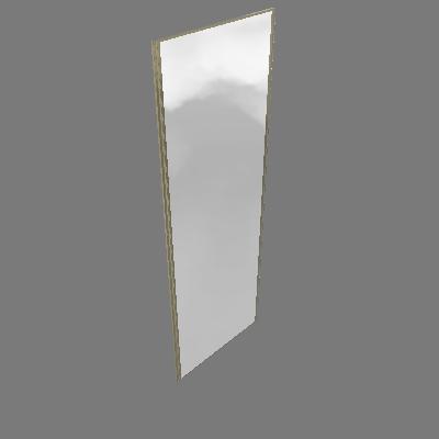Porta de Correr 80cm Espelhada Prime Luciane (89596122)