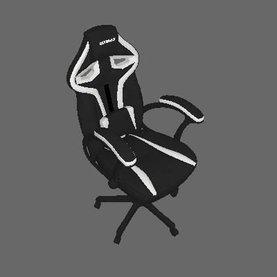 Cadeira Gamer MX One Preta e Branca - Mymax