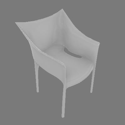 Cadeira Taís Branca Rivatti - Rivatti