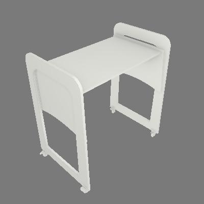 Mini Berço Multifuncional Transformado em Escrivaninha (3258BA)