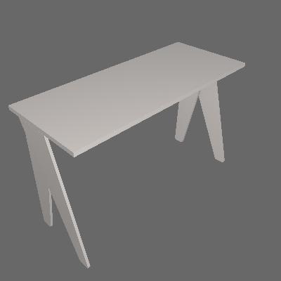 Mesa de Escritório Magnólia Cinza - Falkk