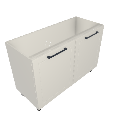 Gabinete 02 Portas sem Tampo (G120-2P-ST)