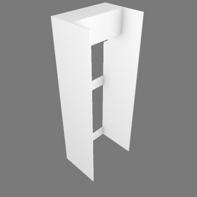 Torre Geladeira 80cm + Aéreo (G27080)