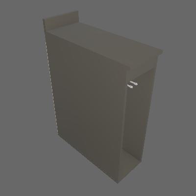 Balcão Porta Toalha 200 mm (B202)