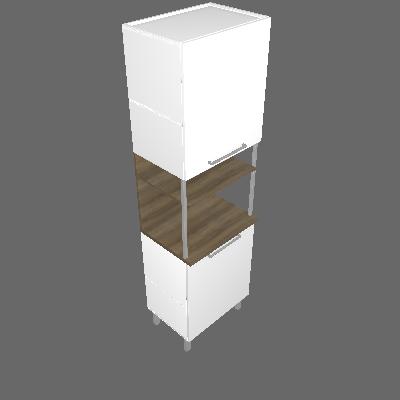 Paneleiro Forno com 02 Portas e Nicho (PAN FNO 2PT 60)