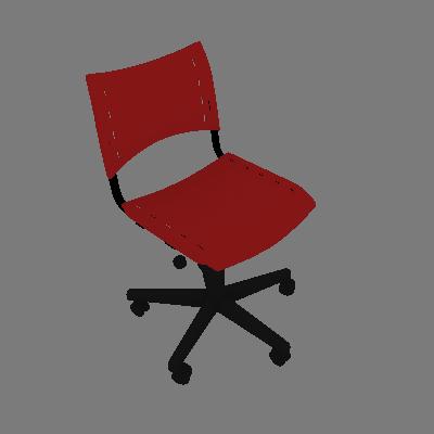 Cadeira de Escritório Evidence I Giratória Vermelha - Absolut