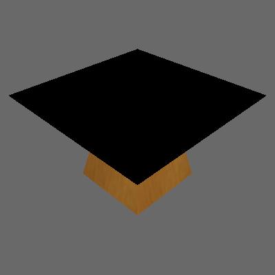 Mesa de Jantar Quadrada Grécia Preta e Imbuia 140 cm - Leifer