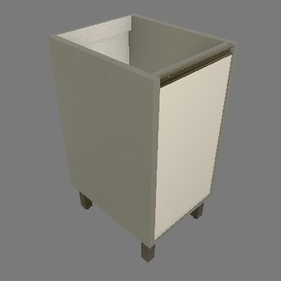 Balcão 01 Porta 400 mm - Dir (C460)