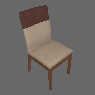 Cadeira Runa I Natural e Bege - Mobly