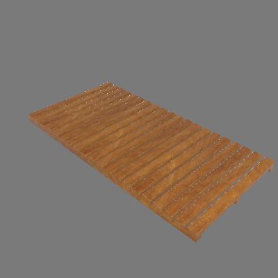 Régua de Deck de Madeira Ipê/Champanhe 50x100cm Keywoods (89267696)