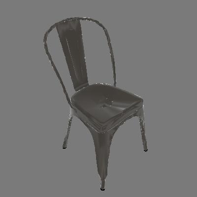 Cadeira Iron Vintage Aço - Rivatti