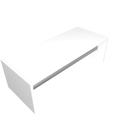 Cabideiro Antares Branco - BRV Móveis