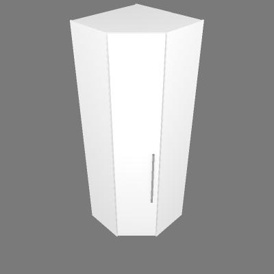 Armário Canto 45° 89,8cm - Esq