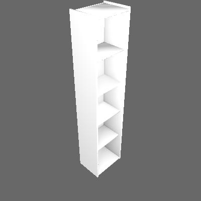 Estante Modular ESM206 Branco Movelbento - Movelbento