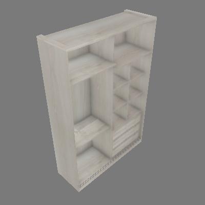 Closet 1592mm c/ Trilhos Prime Luciane (89821445)