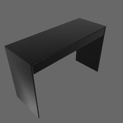 Escrivaninha Lindóia 2 GV Preto - Politorno