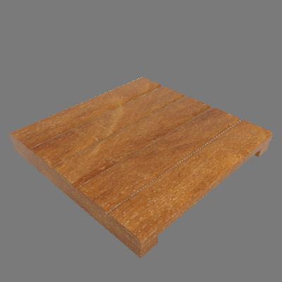 Mini Deck Modular de Madeira Ipê/Champanhe 35x35cm Keywoods (89267731)