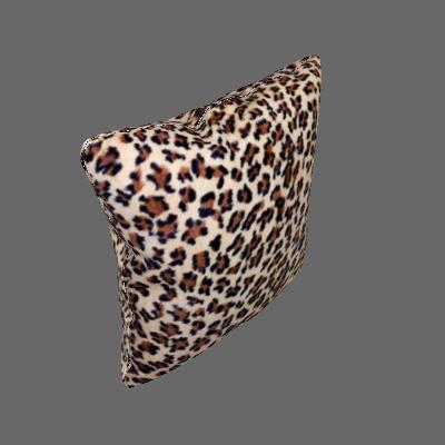 Capa para Almofada pele de Animal 60x60cm Onça - Adomes