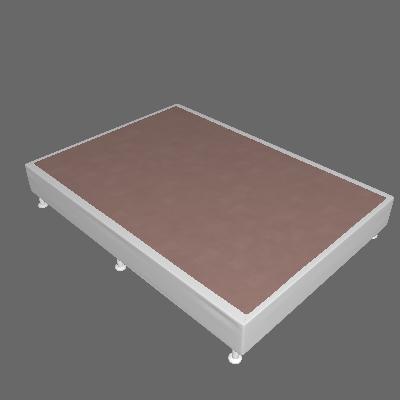 Base Box Casal Cori II Branco - Ortobom
