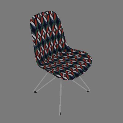Cadeira Eames Butterfly II Colorido - Daf