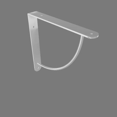 Mão Francesa Cromada 185x185