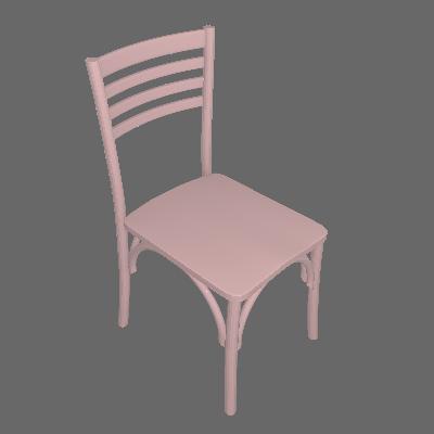 Cadeira de Jantar Samara Rosa Claro - Maxima