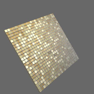 Pastilha Autoadesiva AL500 30,5x30,5cm Glass Mosaic (89631094)