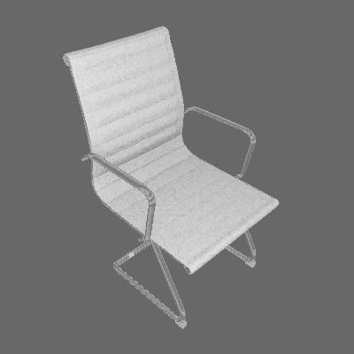 Cadeira de Escritório Best Fixa Branca - Mobly