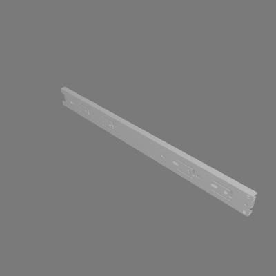 Corrediça 400mm Telescópica com Amortecedor
