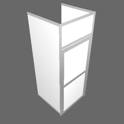 Réserve de 1 m² - U Côté (R1M²-BLANC)