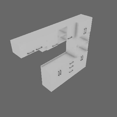 Cozinha Compacta Floripa 10 PT 3 GV Branca - Politorno
