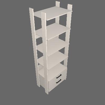 Guarda-Roupa Closet Modulado Konin 2 GV Off White