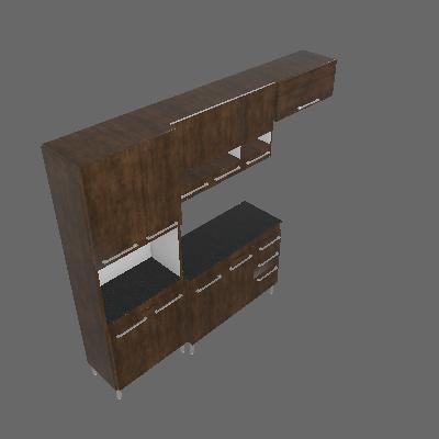 Cozinha Compacta Alice 10 PT 3 GV Ypê e Demolição - CHF Móveis