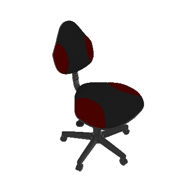 Cadeira de Escritório Verona Giratória Vermelho - Absolut