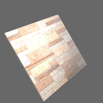 Revestimento de Parede Acetinado Borda Reta Compostela Marrom 34x50cm Artens (89881036)
