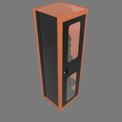 Armário vertical com visores (44955/021)