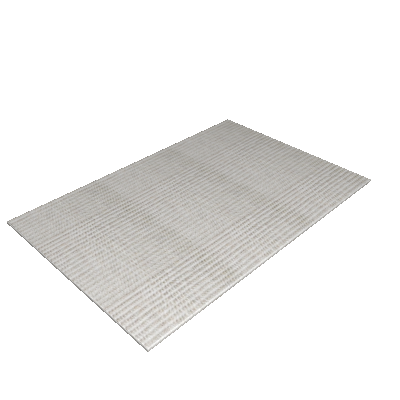Tapete Essential 100x150 cm Cinza Piano - Sisal