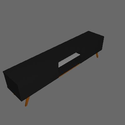 Rack Classic Preto 218 cm - Imcal