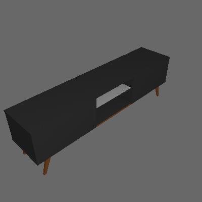 Rack Classic Preto 180 cm - Imcal