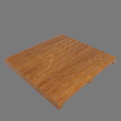 Mini Deck Modular de Madeira Ipê/Champanhe 50x48cm Keywoods (89267703)
